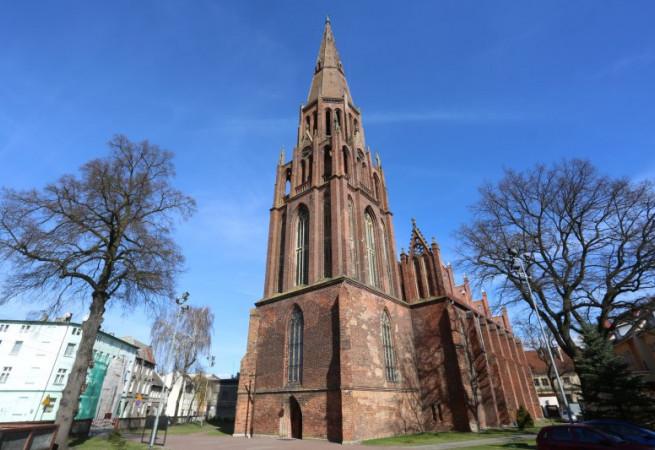Szczecin Kościół parafialny pw Wniebowzięcia Najświętszej Maryi Panny