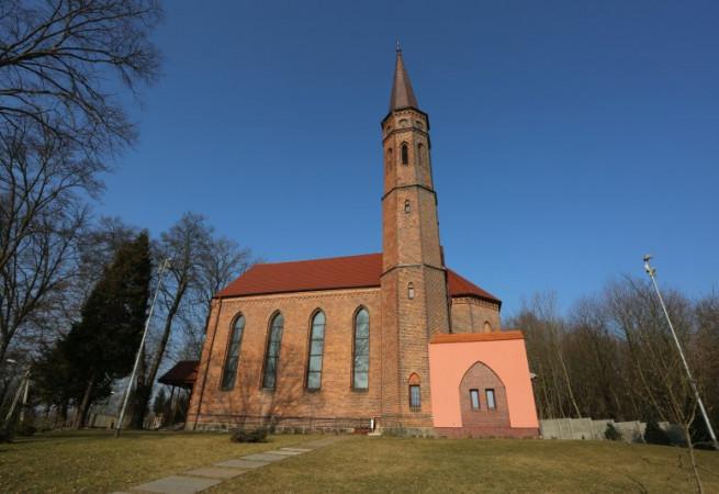 Szczecin Kościół parafialny pw NMP Nieustającej Pomocy