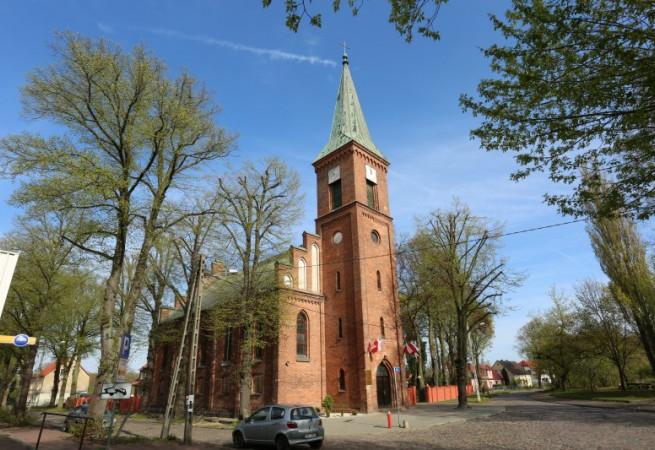 Szczecin Kościół parafialny pw św. Ap. Piotra i Pawła