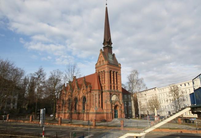 Szczecin Kościół parafialny pw św. Józefa Oblub. NMP