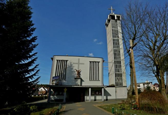 Szczecin - Wielgowo Kościół parafialny pw św. Michała Archanioła