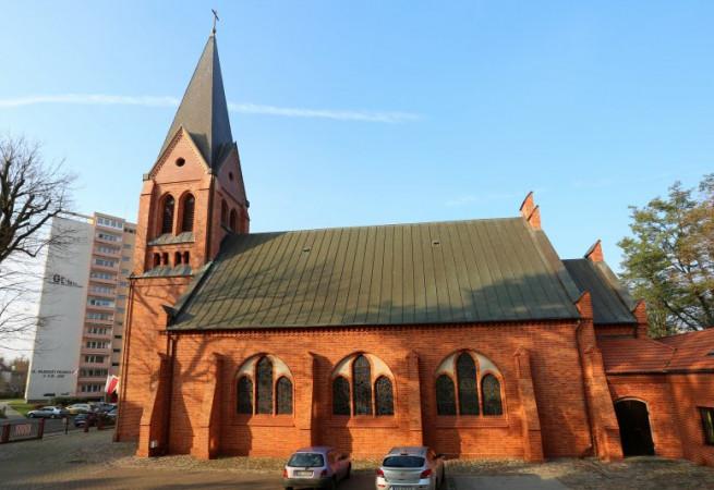 Szczecin Kościół parafialny pw Świętego Ducha