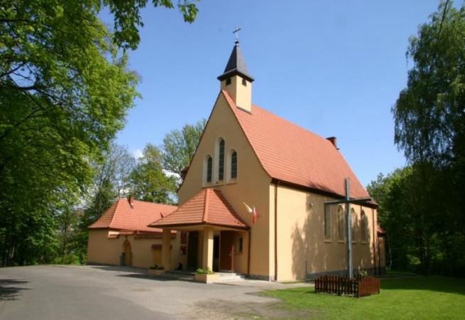 Szczecin Kościół parafialny pw MB Ostrobramskiej