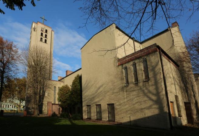Szczecin Kościół parafialny pw św. Andrzeja Boboli