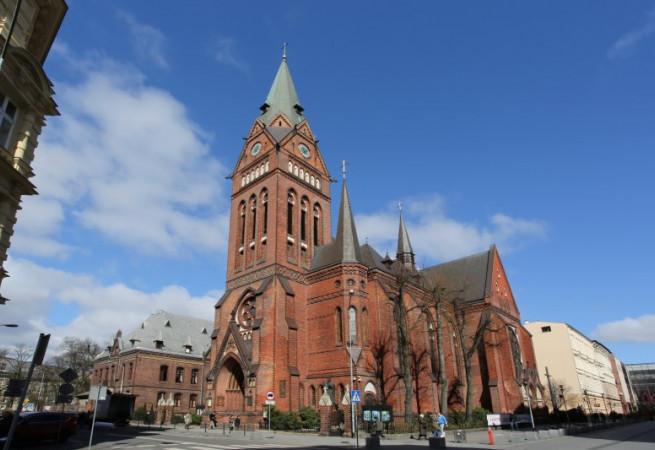 Szczecin Kościół parafialny pw św. Jana Chrzciciela