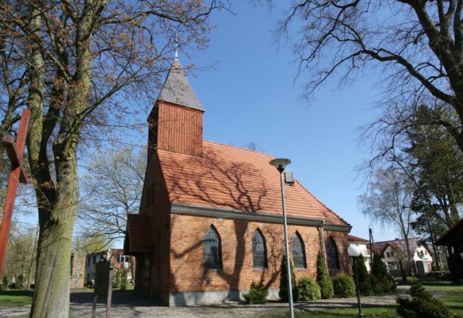 Szczecin Kościół parafialny pw MB Bolesnej