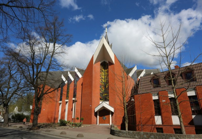 Szczecin Kościół parafialny pw św. Dominika