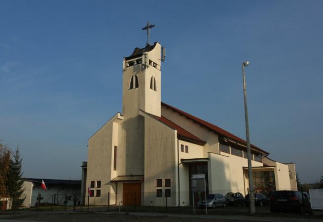 Szczecin Kościół parafialny pw Opatrzności Bożej