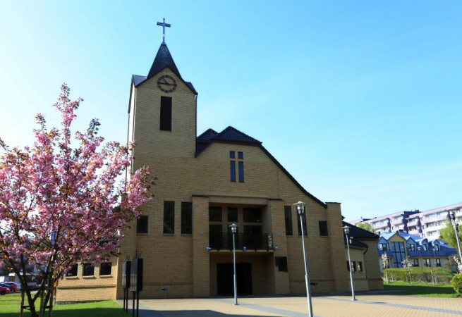 Szczecin Kościół parafialny pw Chrystusa Dobrego Pasterza