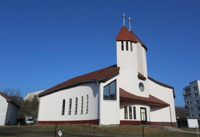 Szczecin Kościół parafialny pw św. Krzysztofa