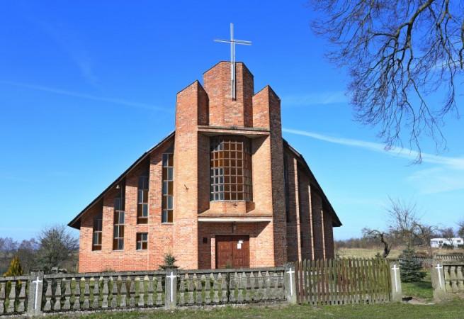 Gąbin Kościół filialny pw św.Stanisława BM