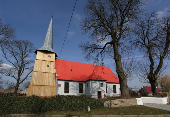 Trzebusz Kościół parafialny pw św. Józefa Oblub. NMP