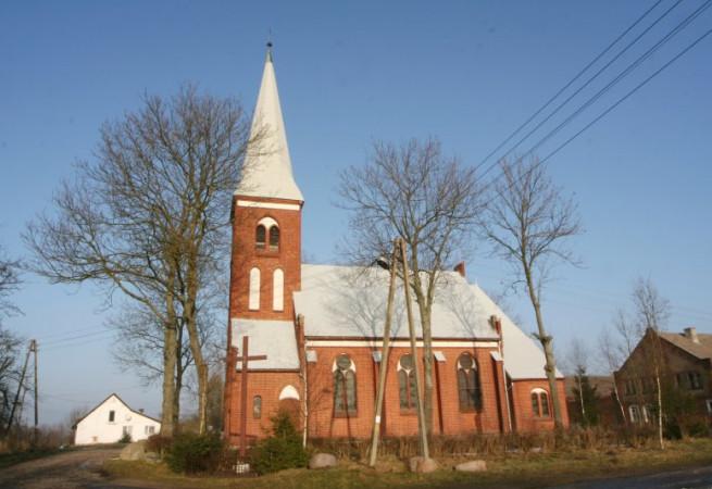 Bieczyno Kościół filialny pw Niepokalanego Poczęcia NMP