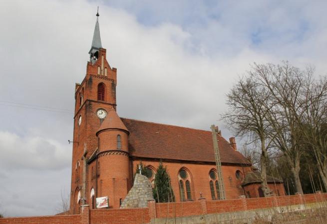 Trzcinna Kościół parafialny pw św. Józefa