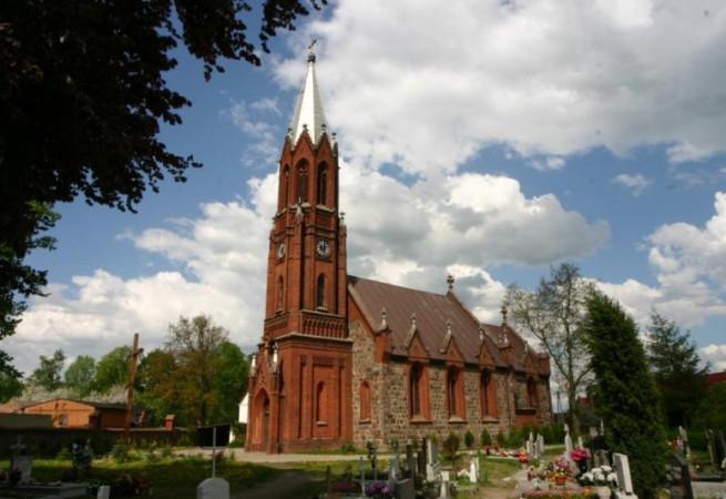 Troszyn Kościół parafialny pw Wniebowzięcia NMP