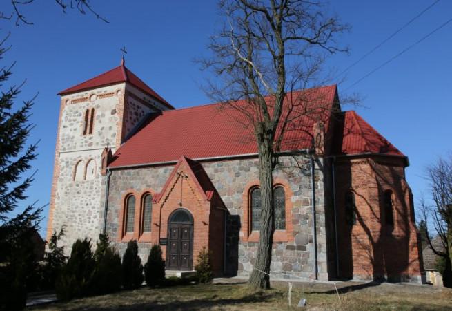 Sokoliniec Kościół filialny pw św. Józefa Rzemieślnika