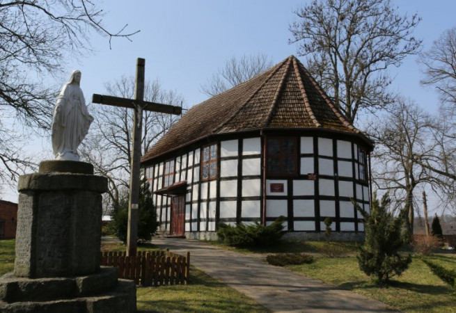 Przytoń Kościół filialny pw św. Marii Magdaleny