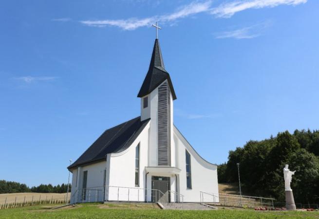 Stare Węgorzynko Kościół filialny pw Chrystusa Króla