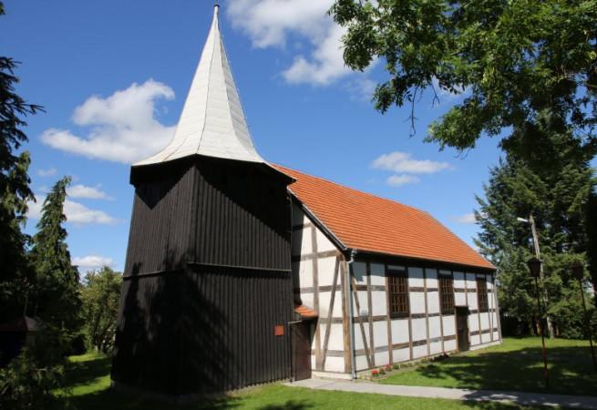 Wierzbięcin Kościół parafialny pw Niepokalanego Poczęcia NMP