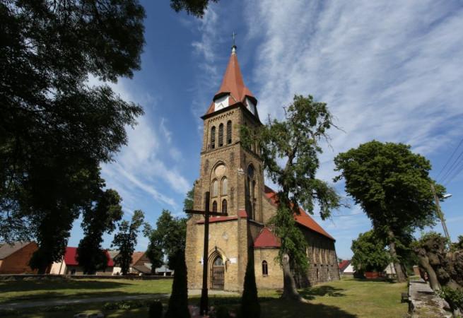 Goszków Kościół filialny pw św.Jana Chrzciciela