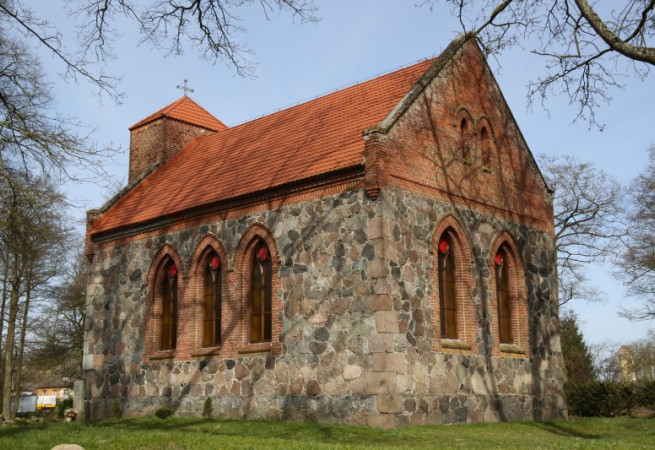 Maszkowo Kościół filialny pw św.Stanisława Kostki