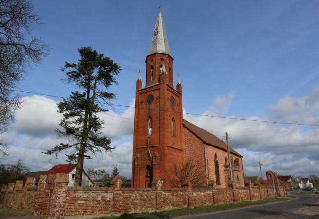 Żarnowo Kościół parafialny pw Chrystusa Króla