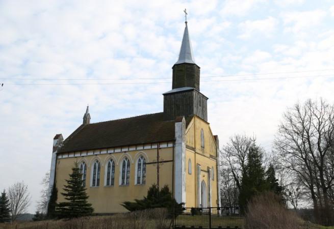 Rzystnowo Kościół filialny pw św.Stanisława Kostki
